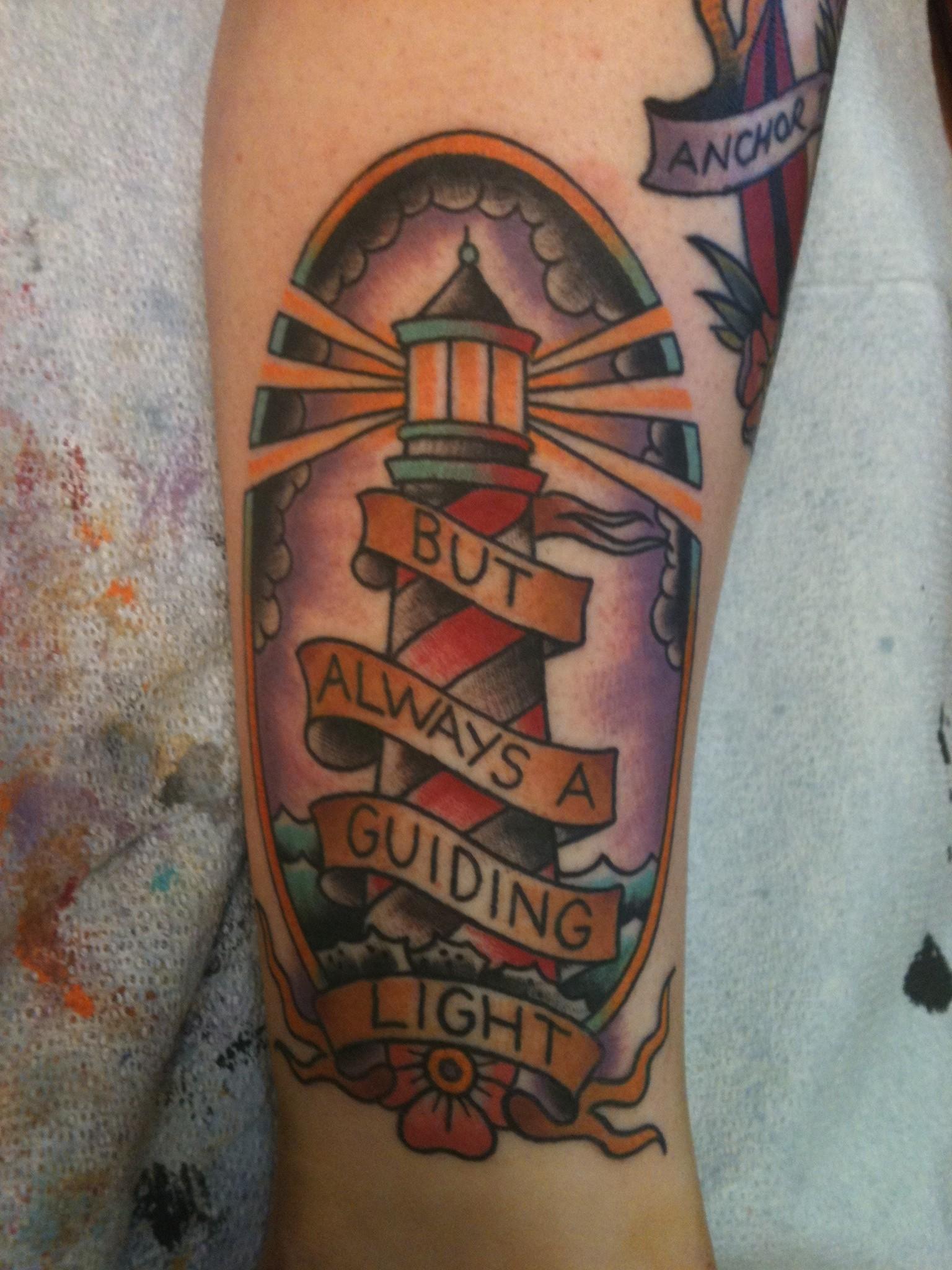 Lower Leg Tattoos